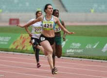 Nigina Sharipova qualifies for Women's 100m semifinals at the Asian Games