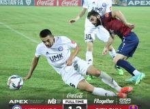 «Кызылкум» отпраздновал победу в Бекабаде (Видео)