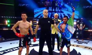 How did the Uzbek fighter win the GFC 30 tournament? (Video)