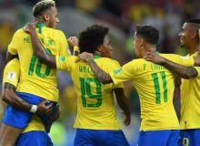 Биласизми? Бразилия кетма-кет 10-марта жаҳон чемпионатларида гуруҳ ғолиби бўлди