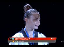 Svetlana Osipova awarded a bronze medal at the 2019 Chiba World Taekwondo Grand Prix