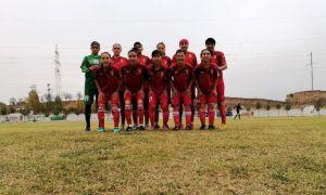 В Андижане прошёл отложенный матч 3-тура женской высшей лиги.