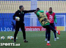Photo Gallery. Al Ahli Saudi FC attend official training sessions ahead of Pakhtakor clash