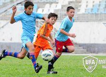 Стартовал предварительный просмотр детей и подростков в региональные футбольные академии