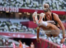 Воронина показала третий результат по прыжкам в длину