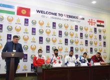 Прошла пресс-конференция с участниками международного учебно-тренировочного сбора