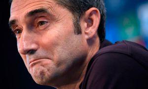 """Эрнесто Вальверде: """"Барселона"""" қийин ўйинларни ўтказди. Энди ўзимизни яхши ҳис қиляпмиз"""