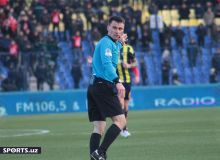 Uzbek referees officiate Saudi Arabia Pro Legue match
