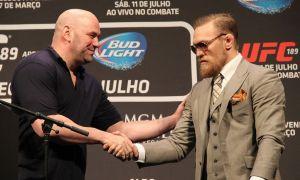 UFC президенти: Макгрегор Нурмагомедов ёки Порьенинг ўрнига чиқиши мумкин