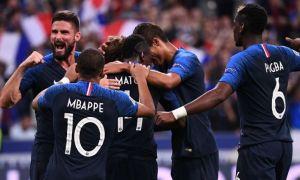 Франция - Германия 2:1 (видео)