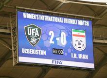 Женская сборная Узбекистана победила Иран в товарищеском матче.