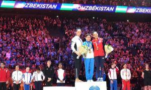 Оксана Чусовитина стала золотым призёром Парижского турнира