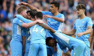 """""""Манчестер Сити"""" навбатдаги ғалабасини """"Бёрнли"""" устидан қозонди (видео)"""