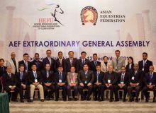 В Ташкенте начала работу Генеральная ассамблея Азиатской федерации конного спорта