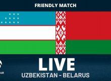 Ўртоқлик ўйини: Ўзбекистон Беларусга имкониятни бой берди