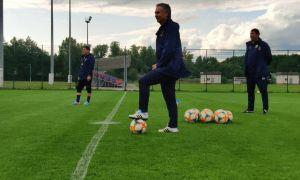 «Бунёдкор» провёл первый контрольный матч в Минске