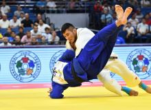 Turaev lost on the way to clinch a bronze medal at the World Judo Championships