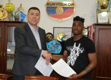 «Бунёдкор» подписал контракт с нигерийским нападающим