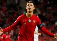 Роналду Португалия терма жамоаси сафида навбатдаги голини урди (видео)