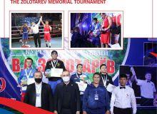 Mujibullo Tursunov wins the anticipated bout of the finals at the Zolotarev Memorial Tournament
