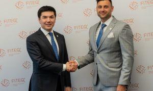 Ойбек Касымов в Будапеште встретился с руководством Международной федерации текбола