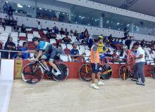Мурад Халмурадов завоевал бронзу ЧА по велоспорту на треке