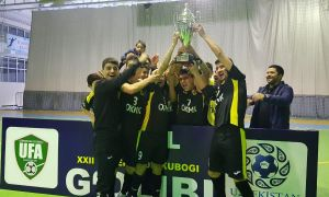 FC AGMK claim 2018 Uzbekistan Futsal Cup title beating FC Bunyodkor with a 2-0 win