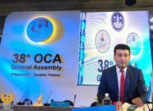 Умид Ахматджанов стал вице-президентом Олимпийского Совета Азии
