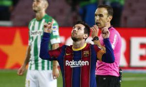 """""""Барселона"""" """"Бетис"""" дарвозасига 5 та гол урди. Мессидан дубль (видео)"""