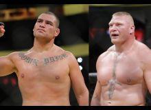 UFC нинг оғир вазнли жангчилари Брок Леснар ва Кейн Веласкес рестлингда тўқнаш келишди... Томоша қилинг
