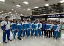 The Uzbekistan national judo team has departed for Italy to participate in the World Championship
