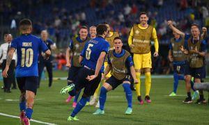 """Евро-2020"". Швейцарияни йирик ҳисобда мағлуб этган Италия плей-офф йўлланмасини қўлга киритди"
