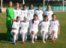 Победа женской сборной Узбекистана над Индией с крупным счётом в первом товарищеском матче.