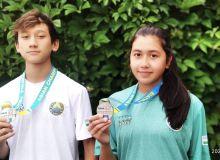 Наши современные пятиборцы поднялись на пьедестал чемпионата Азии
