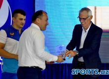 Photo Gallery. Hector Cuper leads the proceedings in Uzbekistan Super League Official Draw