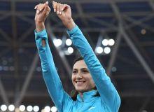 Мария Ласицкене ҳамда Данил Лисенко баландликка сакраш бўйича жаҳон чемпиони