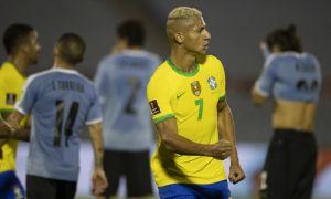 Артур ва Ришарлисоннинг голлари Бразилияга Уругвай устидан ғалаба келтирди (видео)