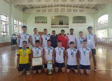 Юношеская команда из Навои стала чемпионом Узбекистана по волейболу