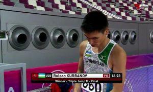 Руслан Курбанов вошел в историю легкой атлетики Узбекистана