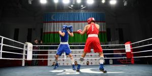ASBC Heroes – Uzbekistan's ASBC Asian Junior Champion Nusratbek Tokhirov wins a youth event a few weeks ago
