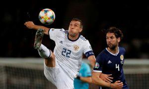 Шотландия – Россия 1:2 (видео)