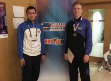 Никита Рафалович стал серебряным призером