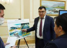 Танзила Нарбаева и Азиз Абдухакимов ознакомились с планами подготовки велоспортсменов