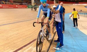 Янина Кускова – участница чемпионата мира по велотреку