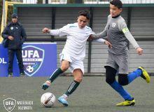 Состоялись полуфинальные матчи турнира «Кубок АФУ» среди региональных детско-юношеских академий