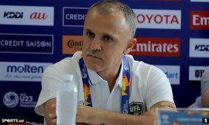 Любинко Друлович сложил полномочия главного тренера олимпийской сборной Узбекистана