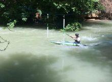 Команда Узбекистана по слалому тренируется на реке Угам