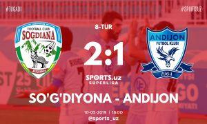 FC Sogdiana secure a 2-1 win over FC Andijan