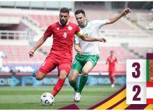 Отборочные матчи ЧМ-2022. Туркменистан одержал драматическую победу над Ливаном