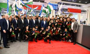 Uzbek champions back home finishing ASBC Asian Confederation Junior Boxing Championships with 20 medals